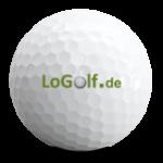 Logolf bedruckte Golfbälle